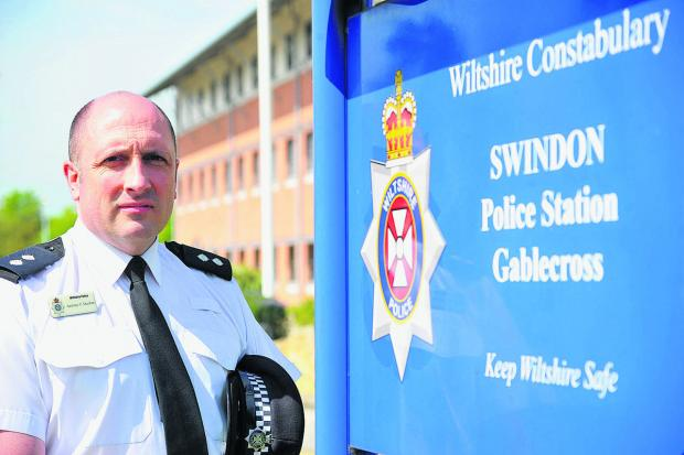 This Is Wiltshire: Inspector Antony Ducker of North Swindon police