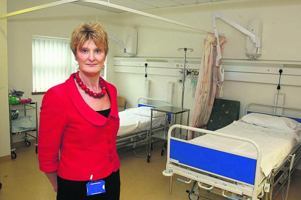 This Is Wiltshire: Chief nurse Hilary Walker