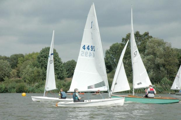 This Is Wiltshire: Chippenham sailing club pushes the boat o
