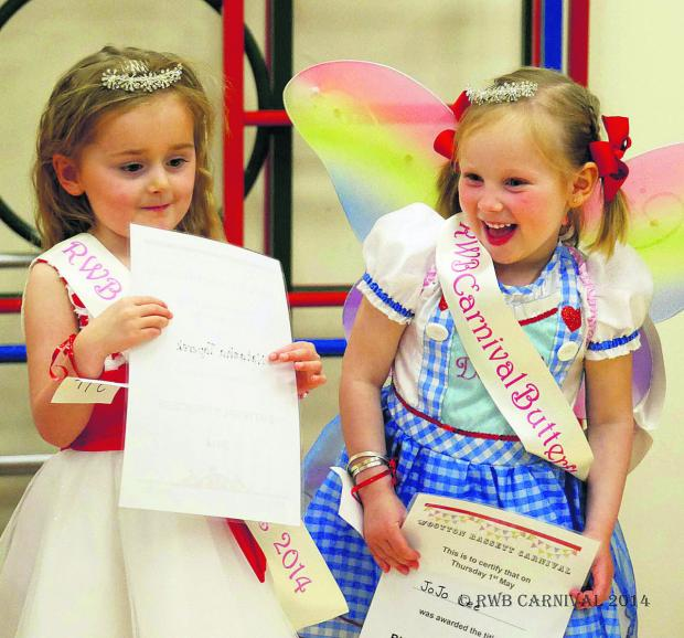 This Is Wiltshire: Butterfly princesses Natasha Taperek and Josephine Lee
