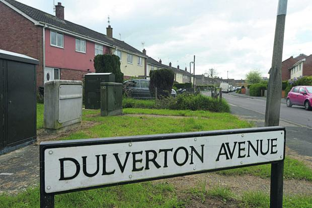 This Is Wiltshire: Dulverton Avenue, where the attack took place