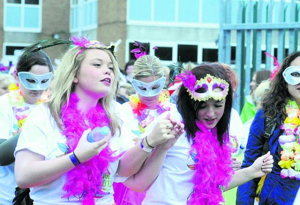 This Is Wiltshire: Participants get into the spirit of things at last year's Starlight Walk
