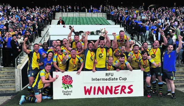This Is Wiltshire: Trowbridge lift the RFU Intermediate Cup