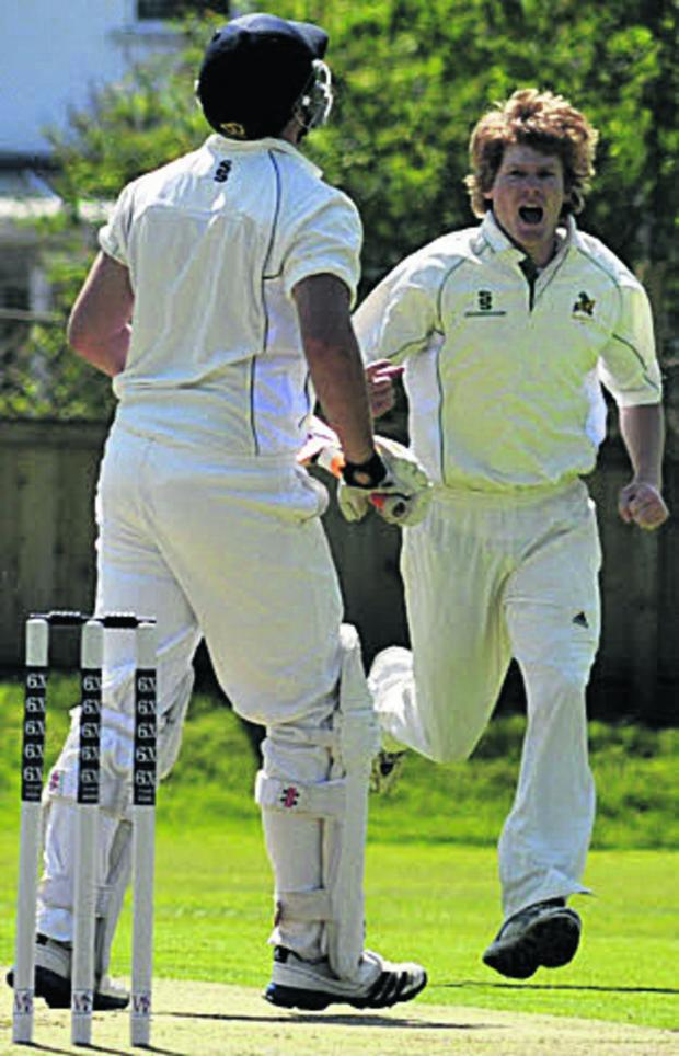 This Is Wiltshire: Westbury's Rory Cullinan (right)