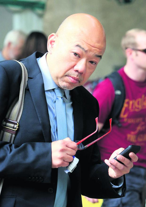 This Is Wiltshire: Dr Michael Chongkee Lok, who has been convicted of taking indecent images of a child