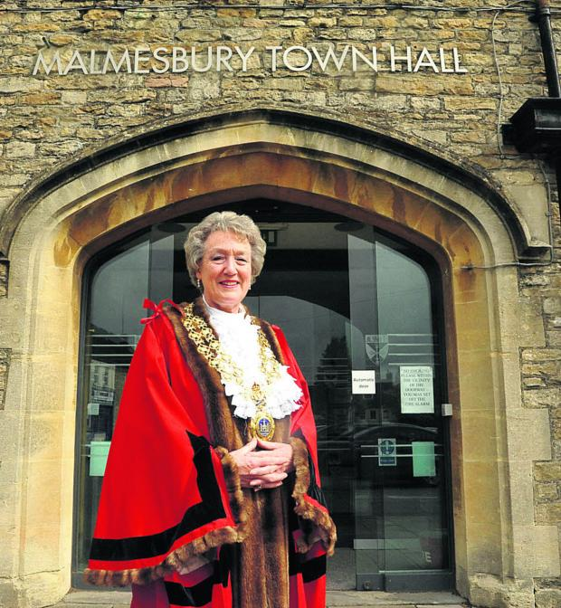 This Is Wiltshire: New mayor Sue Poole