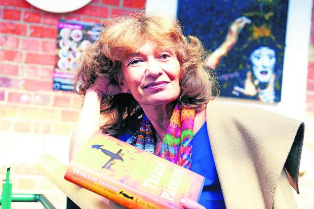 This Is Wiltshire: Lisa Appignanesi with her book, Trials of Passion. Picture: THOMAS KELSEY