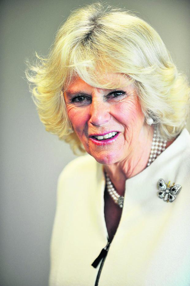This Is Wiltshire: The Duchess of Cornwall is to visit the Royal Bath and West Show on May 28