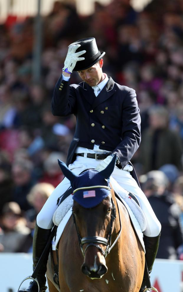 This Is Wiltshire: BADMINTON HORSE TRIALS: Montgomery charges to the top