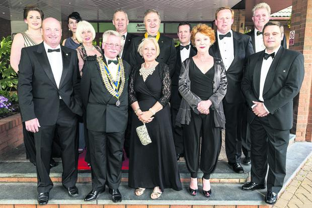 This Is Wiltshire: Charity ball goers
