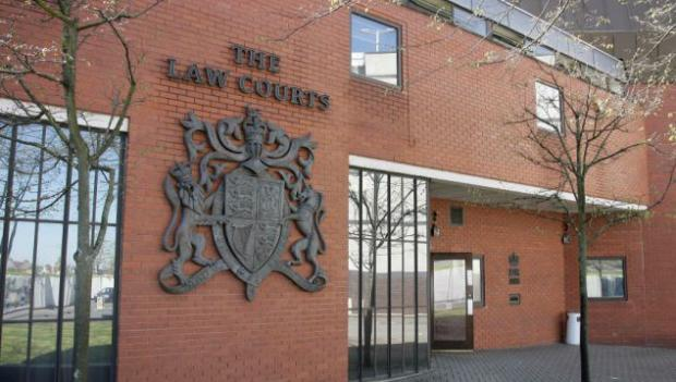 This Is Wiltshire: Richard Lowe pleaded guilty to one charge of burglary when he appeared at Swindon Crown Court