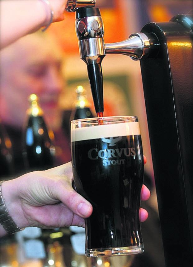 This Is Wiltshire: Wiltshire-brewed stout Corvus has beaten Guinness in a blind tasting, brewers Wadworth have revealed
