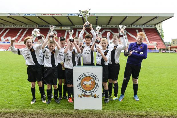 This Is Wiltshire: Swindon Rangers lift the under 12 trophy