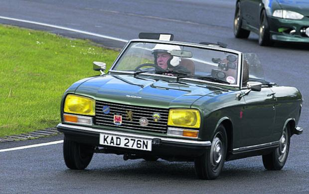 This Is Wiltshire: Revving up for Castle Combe's vintage auto sale