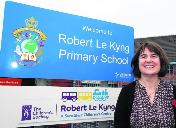 This Is Wiltshire: Susan Smith, headteacher of Robert Le Kyng