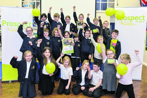 This Is Wiltshire: Pupils from Rodbourne Cheney Primary school will be raising money through different events for Prospect Hospice