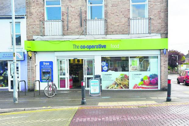 This Is Wiltshire: The Co-op in Moredon, where the robbery took place