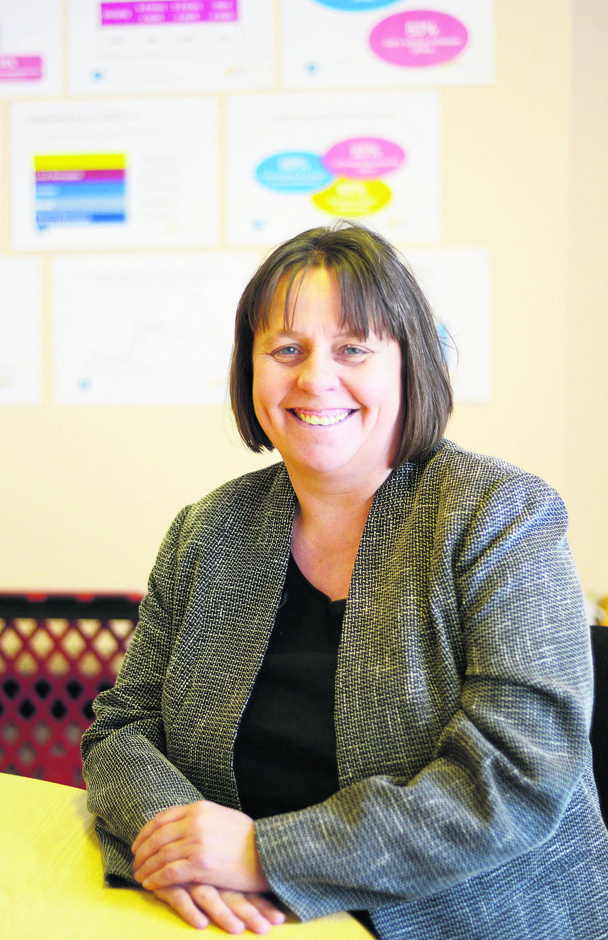 This Is Wiltshire: Nerissa Vaughan, chief executive of the Great Western Hospitals NHS Foundation ... - 3024250