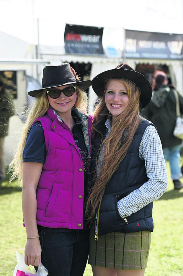 This Is Wiltshire: Roxanne Skidmore and Rosalie Woodman at Badminton Horse Trials