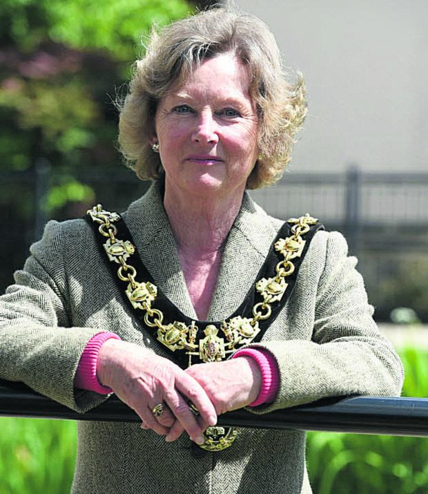 This Is Wiltshire: Calne's new mayor, Heather Canfer