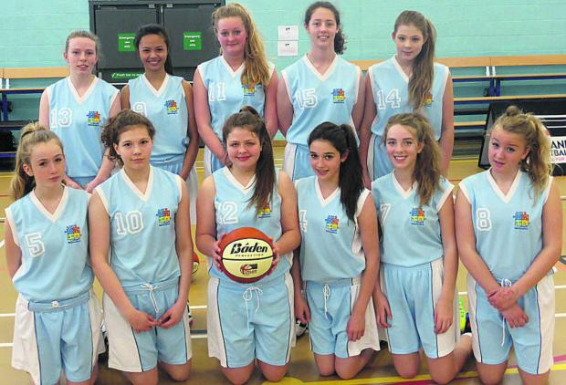 This Is Wiltshire: The St John's basketball team, who were runners up in the national U16 championships in London
