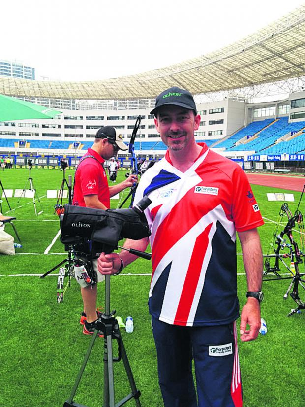This Is Wiltshire: Mark Rudd is hoping for more World Cup experience wiith Great Britain
