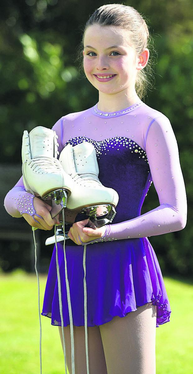 This Is Wiltshire: Alicia Boyer hopes to attend a two-week skating school in Canada this summer