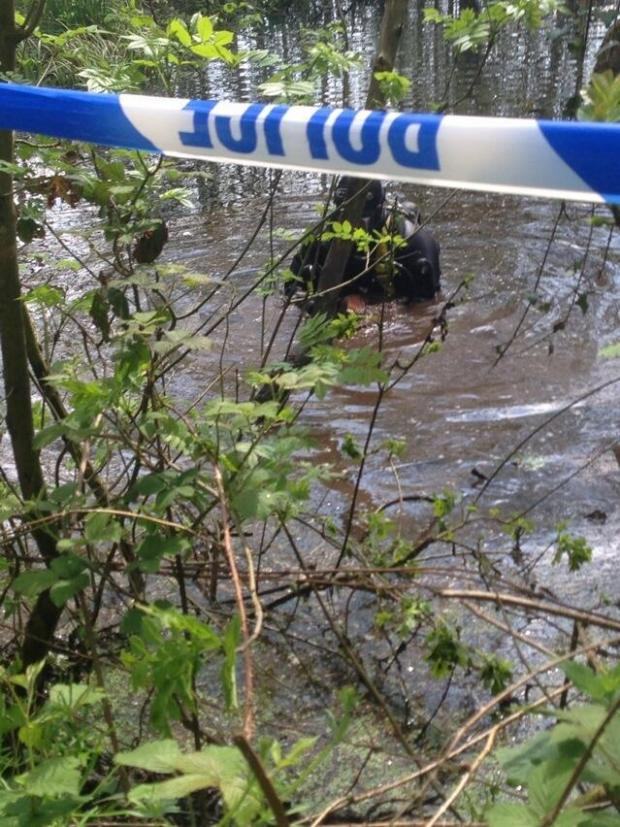 This Is Wiltshire: Police to drain pond where Sian OCallaghan's boot found