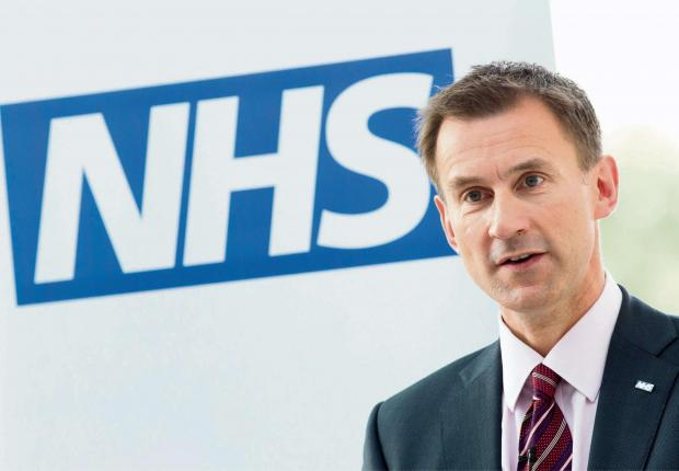 This Is Wiltshire: Health Secretary Jeremy Hunt