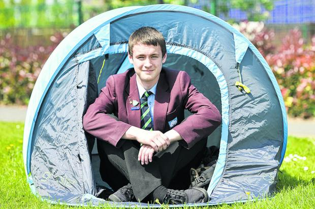 This Is Wiltshire: Ben Thurman from Swindon Academy, Ben has been accepted to take part in a expedition to Canada