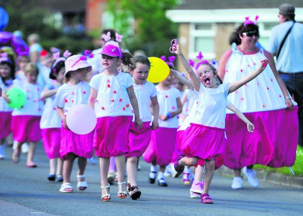 This Is Wiltshire: Here comes a pink invasion