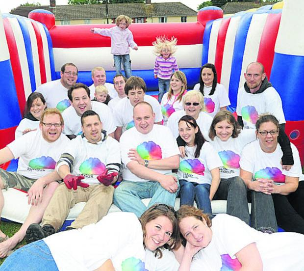 This Is Wiltshire: An earlier fun day at Burbage in aid of cancer charities