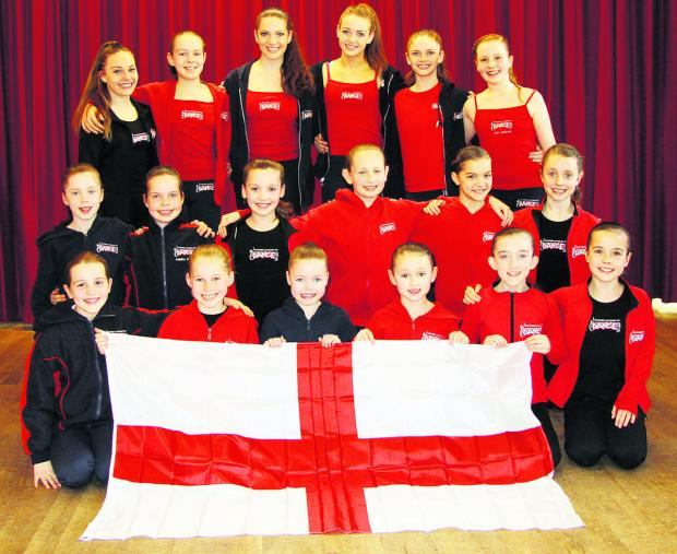 This Is Wiltshire: Swindon Academy of Dance pupils