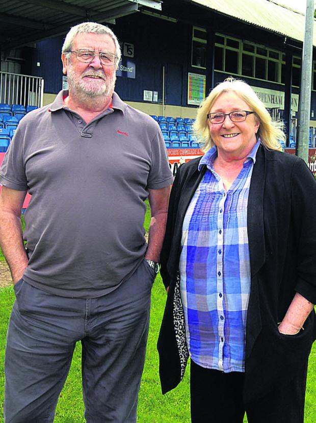 This Is Wiltshire: Doug and Sandie Webb at Hardenhuish Park