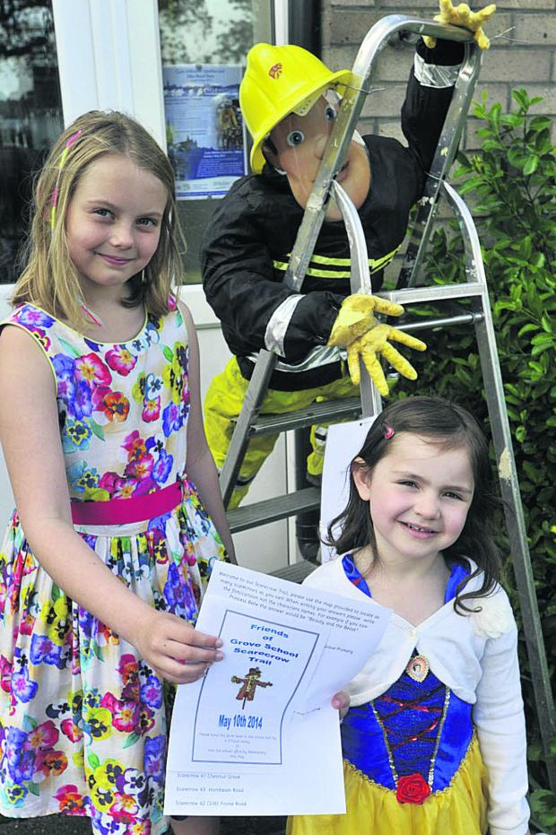 This Is Wiltshire: Isla Curtis and Isabella Prior-