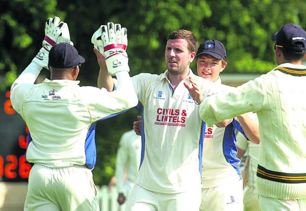 This Is Wiltshire: Jake Roberts claimed four Dorset second-innings wickets in Wiltshire's victory