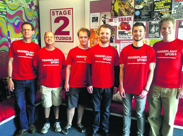 This Is Wiltshire: The Gifted Organs, from left, Andy Eddy, James Tottle, Gabriel Ciechan, Daniel O'Rourke, Dominic Guerin and Julian Kay