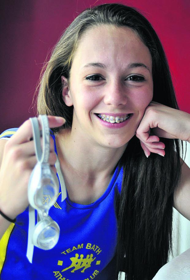 This Is Wiltshire: Caitlin Wosika is representing Great Britain for the first time in Portugal