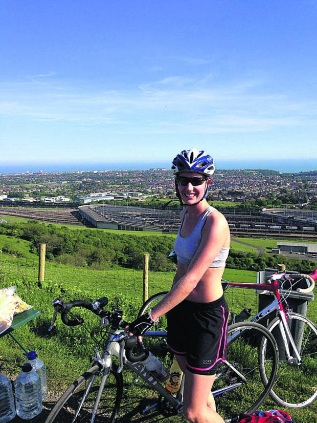 This Is Wiltshire: Melksham woman back in saddle for epic cycle