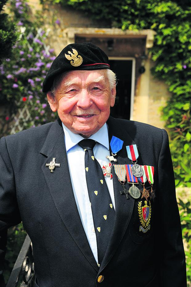This Is Wiltshire: Battle of Monte Cassino veteran Valek Jaworski at home in Melksham