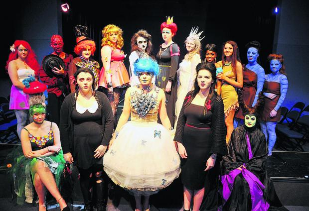 This Is Wiltshire: Media make-up and Btec production students hold their end-of-year show at New College