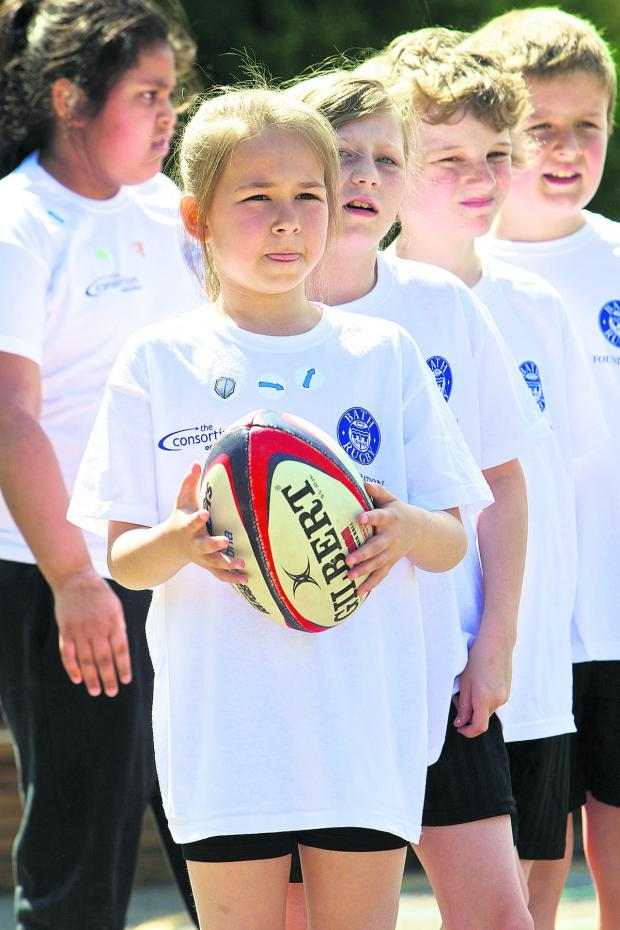 This Is Wiltshire: Pupils build up their confidence with rugby