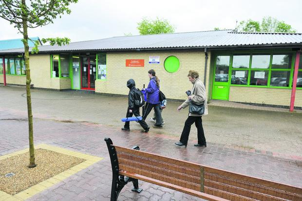 This Is Wiltshire: Freshbrook Village Centre has undergone a revamp