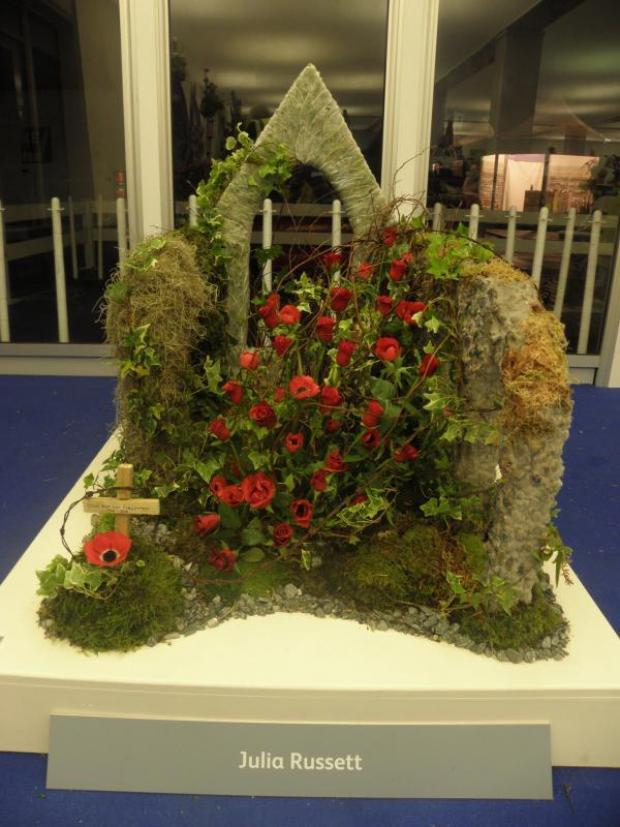 This Is Wiltshire: Julia Russett's design for the Chelsea Flower Show