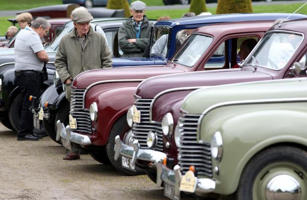This Is Wiltshire: Morris tops Calne motor show