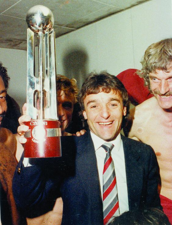 This Is Wiltshire: Town fans were delighted to hang on to Lou Macari