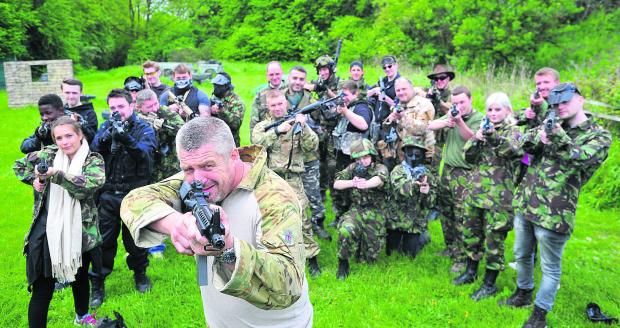 This Is Wiltshire: Taking aim at the SAS themed combat training day