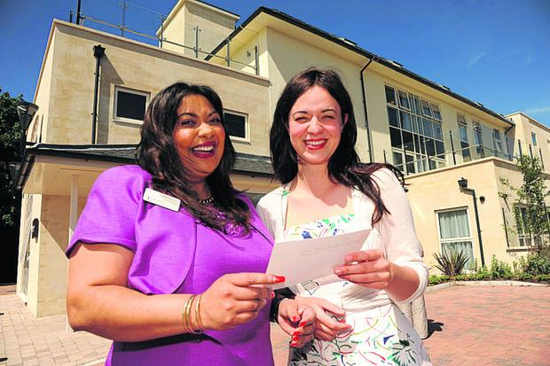 This Is Wiltshire: Selvie Naidoo with Frances Tophill of ITV's Love Your Garden