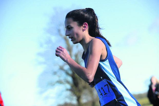 This Is Wiltshire: Yasmin Watling won the U17 1500m the County championship