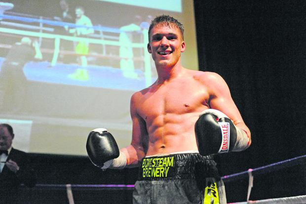 This Is Wiltshire: Trowbridge middleweight ace Nick Blackwell has signed a deal with top promoter Mick Hennessy